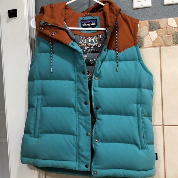 d624a2e58 Women's Patagonia Bivy Hooded down vest